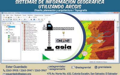 Sistemas de información geográfica utilizando ARCGIS 14 – 22 dic 2020
