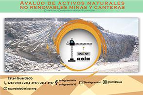 Avalúo de activos naturales no renovables minas y canteras 16 – 21 de diciembre de 2020