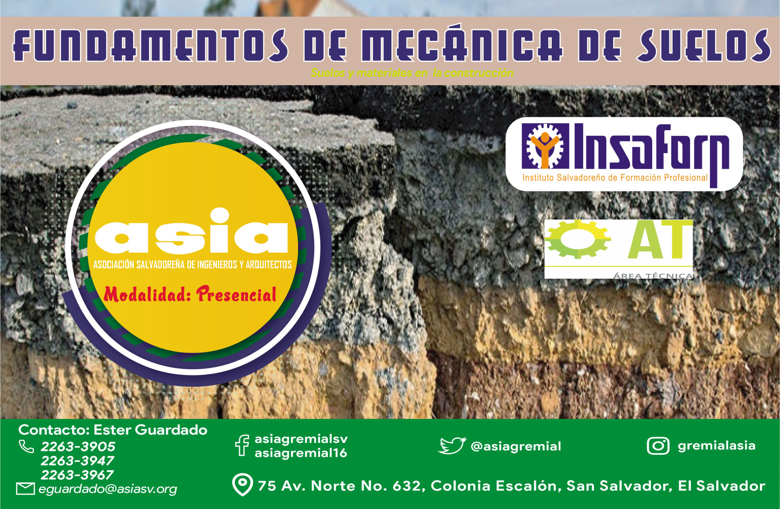 202106 Fundamentos de mecánica de suelos – Modalidad Presencial