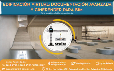 202104 Edificación virtual: Documentación y Cinerender para BIM